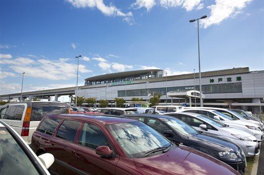 空港の駐車場